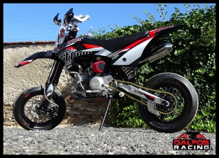 Stomp pitbike Motard Z3-160 Races